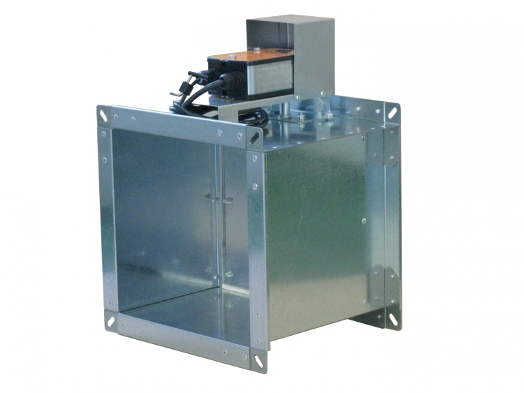 Клапан КПС-1м(60)-НО-МВ(220)-300*200